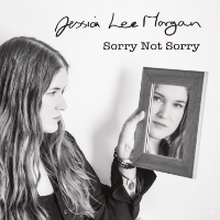 Jessica Lee Morgan Sorry Not Sorry cover showing Jessica looking into a mirror